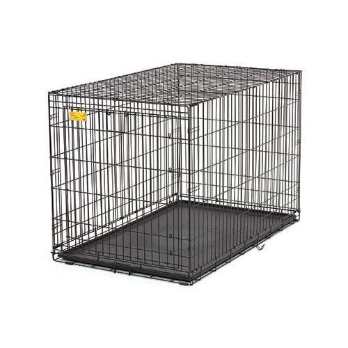 Dog Crate 42 75 In L X 28 50 In W X 30 50 In H See This Great Product This Is An Affiliate Link Doggies Dog Kennel Outdoor Dog Crate Crates