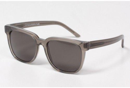 Deep Black Transparent People Sunglasses $132
