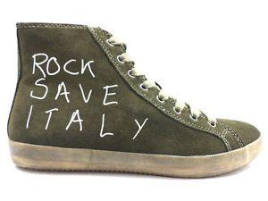 #IstantCollection #sneakers #uomo #camoscio #verde #zooode