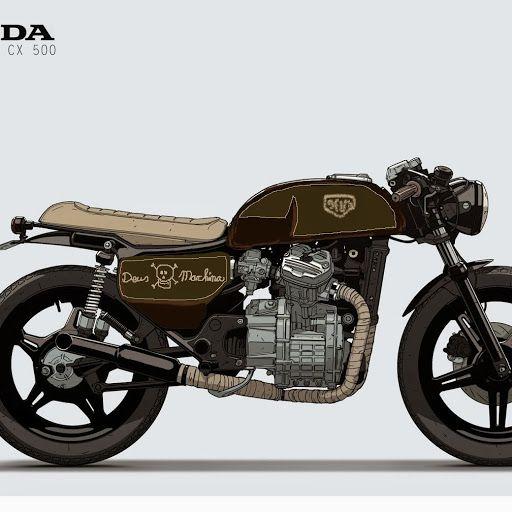 1978 Honda Cx500 Engine For Sale: Daily Inspiration, Inspiration And Honda On Pinterest