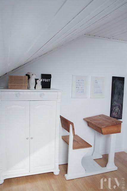 Baby-Deco: Un dormitorio noruego en lila y blanco
