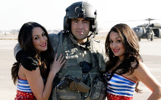 The Bella Twins WWE Tribute to the Troops 2009