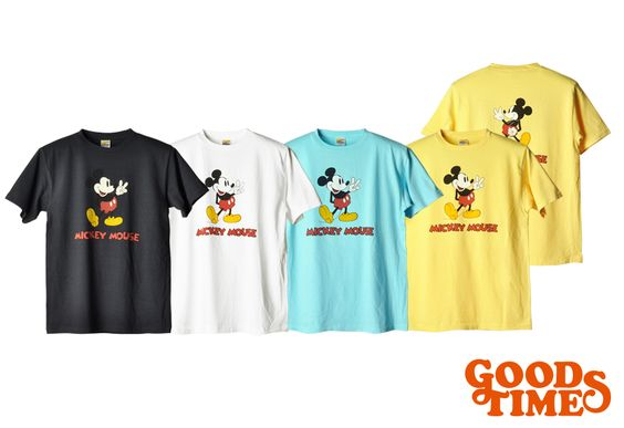 Disney × SD Mickey Mouse T : ¥7,800(+Tax) #standardcalifornia #スタンダードカリフォルニア #goodtimes