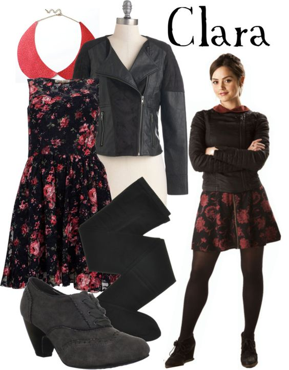 """""""Clara Oswald"""" by companionclothes ❤ liked on Polyvore"""