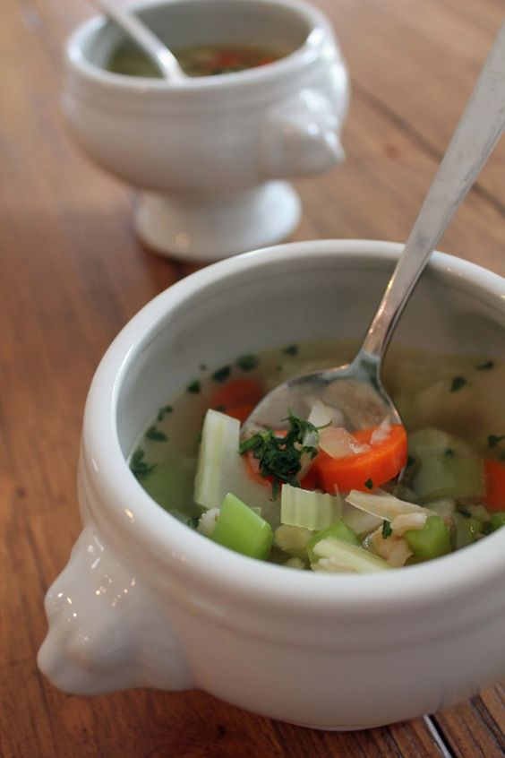 Easy Everyday Chicken & Barley Soup