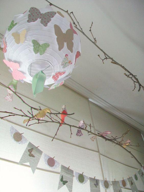 Decoracion para fiestas del bosque de las manos de jann - Manualidades para decoracion ...