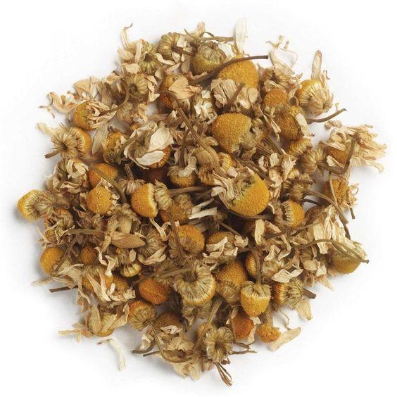Amazon.com : Frontier Co-op Organic Chamomile Flowers, German, Whole, 1 Pound Bulk Bag : Herbal Teas : Health & Personal Care