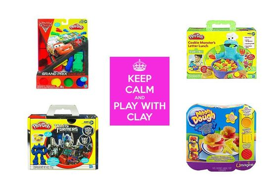 Get the kids busy with their hands, by playing with clay. .   To order: http://www.shopaholic.com.ph/