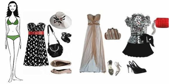 vestidos festas para formato de copo retangular - Pesquisa Google