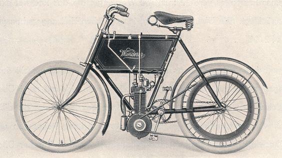 1902 Wanderer Motorrad