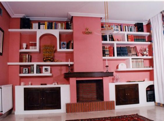 Pinterest the world s catalog of ideas for Muebles para chimeneas