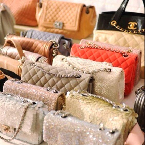 Channel purses
