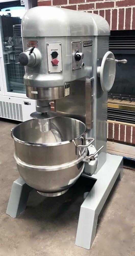 Hobart H 600 60 Quart Dough Mixer With Bowl Hook New Motor New Bowl New Tools Very Clean Guaranteed Excellent Condit Restaurant Equipment Mixer Hobart