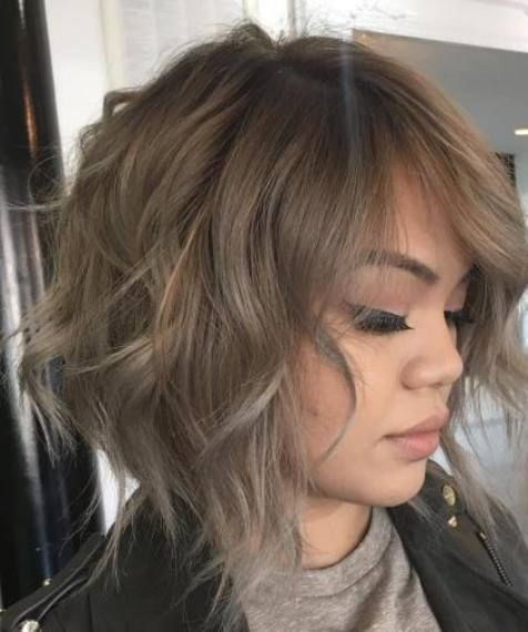 Light Ash Brown Wispy Bob Bob Hairstyles Messy Bob Hairstyles Choppy Bob Hairstyles Bob Hairstyles