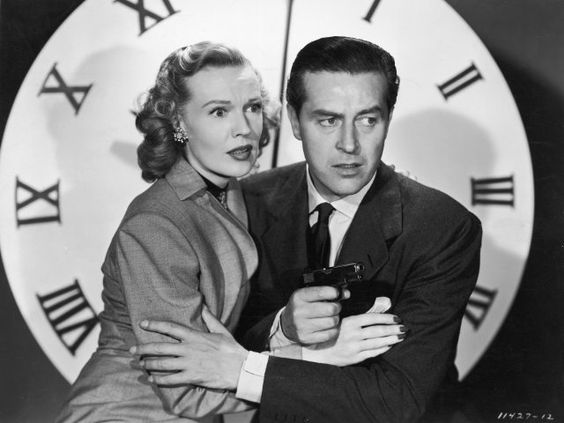 Still of Ray Milland and Rita Johnson in The Big Clock (1948)