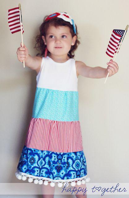 Sew: Girl dress