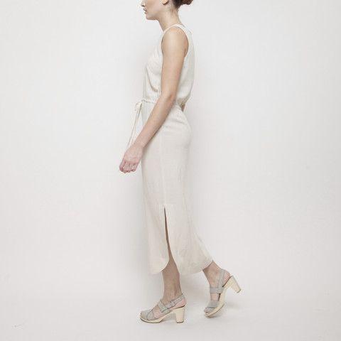 Over the Knee Drawstring Dress by 7115 by Szeki