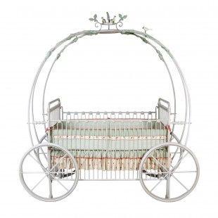 Crib for a little princess.