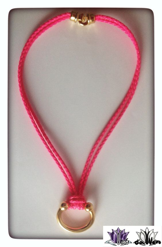 Fluorescente rosa y dorado