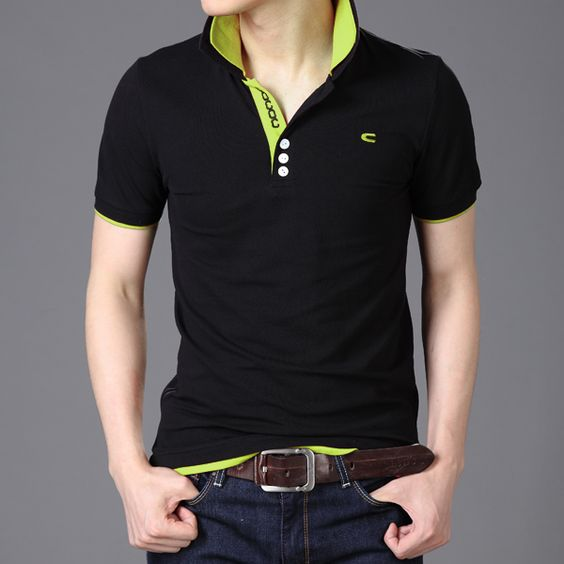 Fashion wholesale mens summer tops & tees cotton multi-color t-shirt