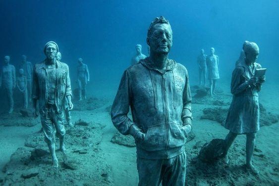 14 Απίστευτα γλυπτά που μοιάζοντας από έναν άλλο κόσμο - https://kaftipiperia.com