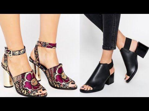 Sandalias 2019 Zapatos Y Sandalias De Moda Mujer Tendencia Verano 2019 Sandalias De Moda Calzado De Moda Zandalias De Moda