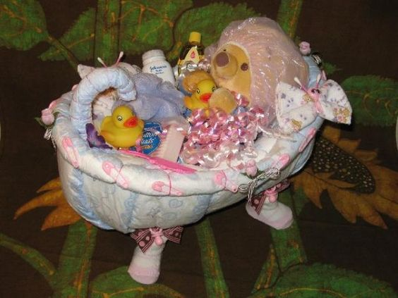 diaper bathtub idea baby diaper tub pinterest awesome flower and cakes. Black Bedroom Furniture Sets. Home Design Ideas