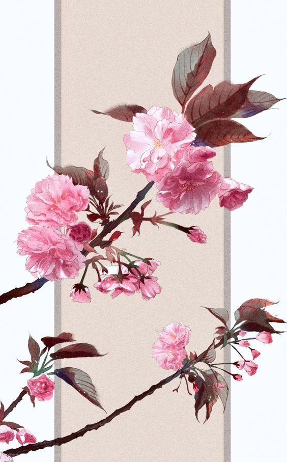 桜のおしゃれでかっこいいスマホ壁紙