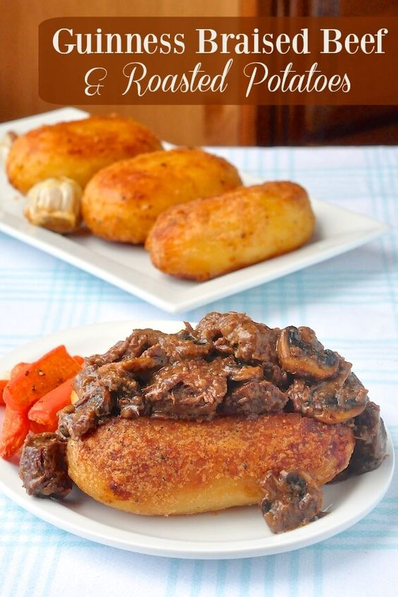 Braised beef, Guinness and Beef on Pinterest