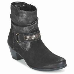 Remonte Dorndorf R9179-02 zwart grijs enkellaarsje