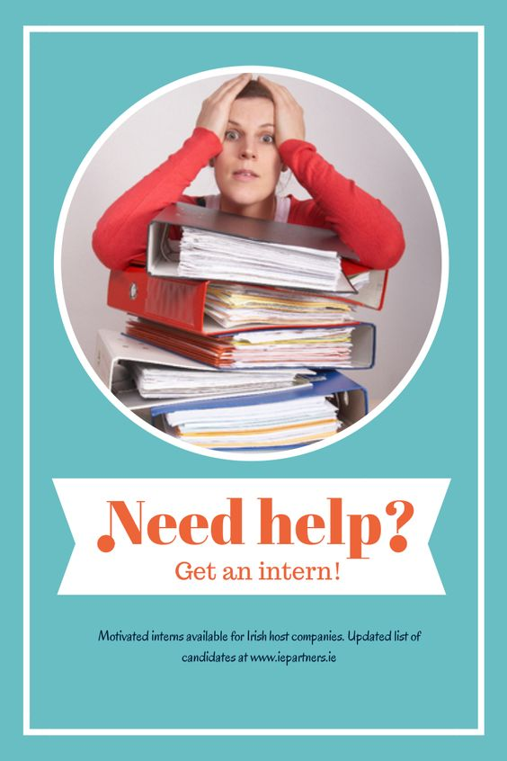 Considering taking on an intern? Skilled interns available for Irish ...