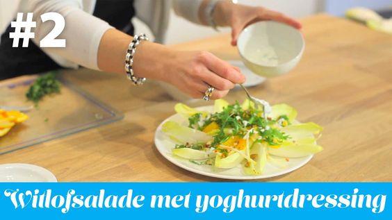 Witlofsalade receptenvideo 2 Cure4Life. Wekelijks publiceert Cure4Life in samenwerking met Williene Klinck van Witlofsalade recept. Smakelijck.nl een gezond en verantwoord recept. Dit recept past binnen het medisch voedingsprogramma van http://www.cure4life.eu