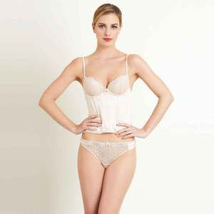 Bustier Vanilla, $37, now featured on Fab.