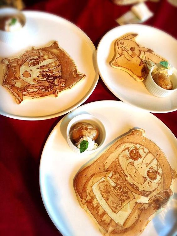 Theres a Restaurant in Japan That Makes Amazing Pancake Art