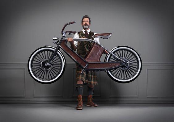 Cykno – Le vélo électrique vintage