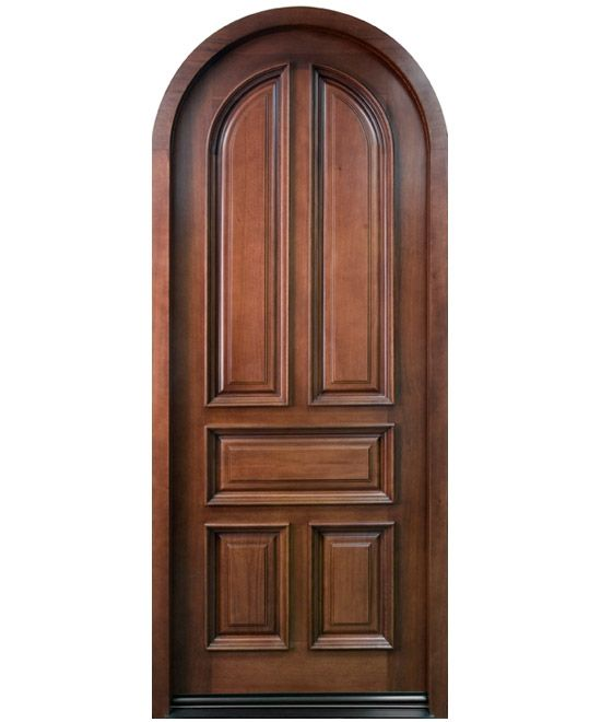 Arched entrance doors entry doors illinois for Arch door design