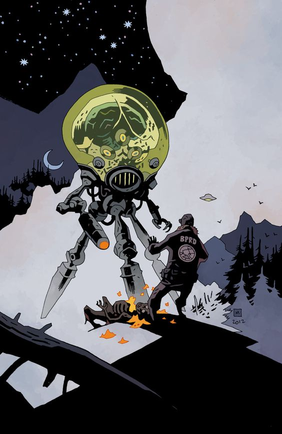 BPRD runs into something from beyond the stars.