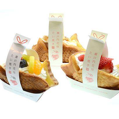 瀬戸内花嫁たい焼き 3種類6ケセット 周防大島老舗 ちどり みかん鍋 糂汰味噌 じんだみそ の古里から直送 japanese sweets sweets food