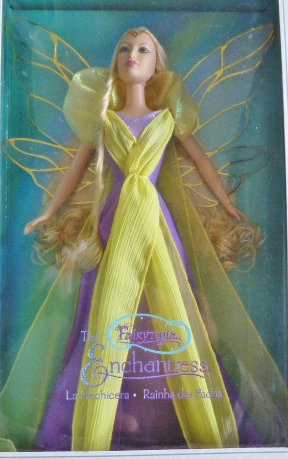 barbie silver label fairytopia enchantress fee g8065 2004 nrfb