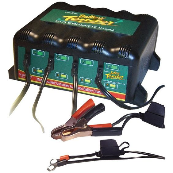 Battery Tender 022-0148-DL-WH 4-Bank Charger