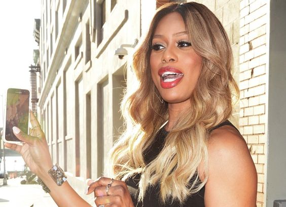 Laverne Cox attends HFC NYC's Hilarity for Charity event held at Highline Ballroom in New York City on June 29, 2016
