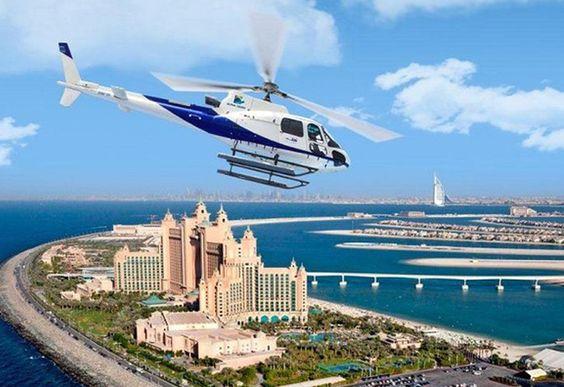 Vuelo en helicóptero sobre Dubái