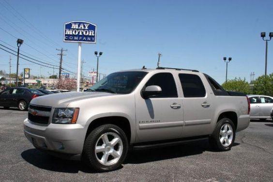 2007 Chevrolet Avalanche, 77,056 miles, $20,968.