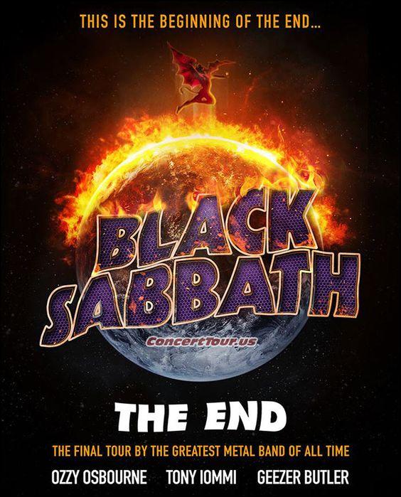 www.ConcertTour.us - BLACK SABBATH Announce Their 2016 Tour Plans, Trek Named 'The End Tour'