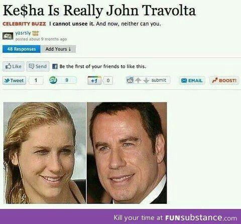 Really john travolta ;)