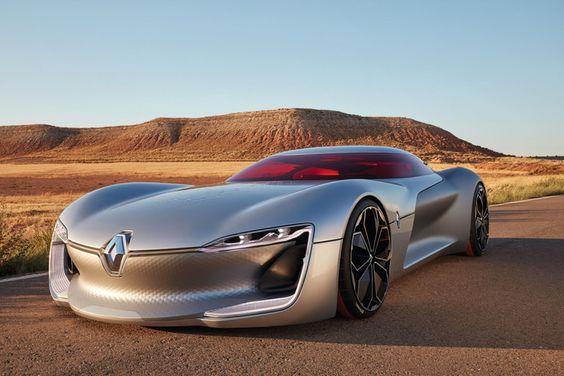Renault zeigt rassige GT-Studie Trezor auf dem Pariser Autosalon - TRENDYone - das Lifestylemagazin (Pressemitteilung)
