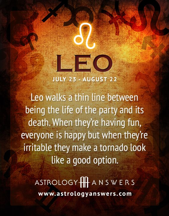 leo actual horoscope