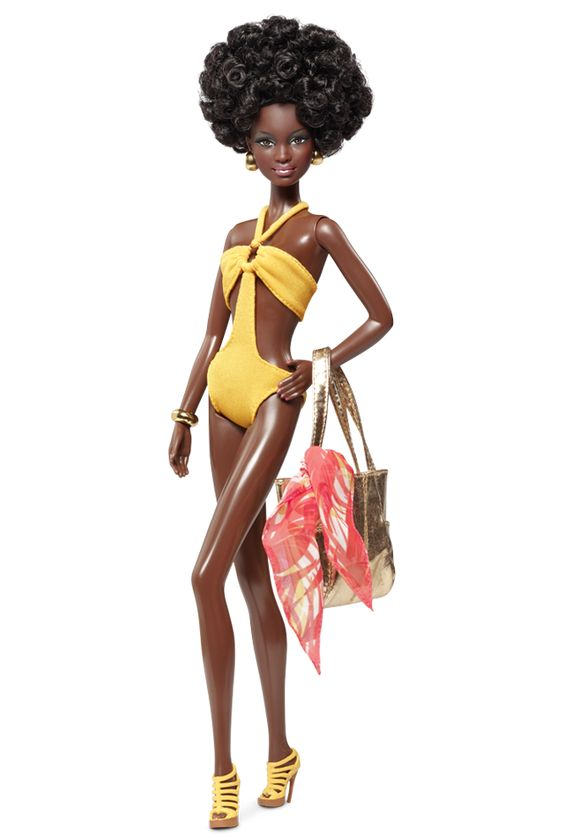 Model No. 08 — Collection 003: African American, Barbie Collector, Barbie Collection, Barbie Dolls, Dolls Barbie