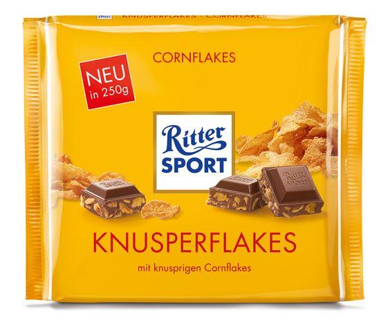RITTER SPORT Schokolade Knusperflakes 250g
