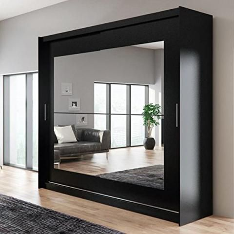 Ye Perfect Choice Brand New Modern Bedroom Wardrobe Mirror Sliding Doors Wardrobe Ava 12 Closet Mirror Wardrobe Design Bedroom Bedroom Closet Design